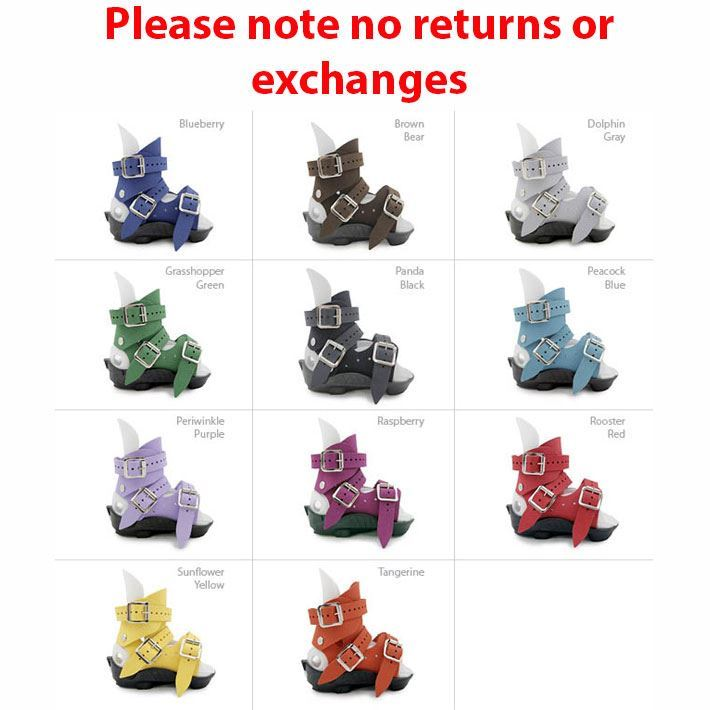 Custom Ponseti AFO Standard Sandals Per Pair - 3 week delivery time